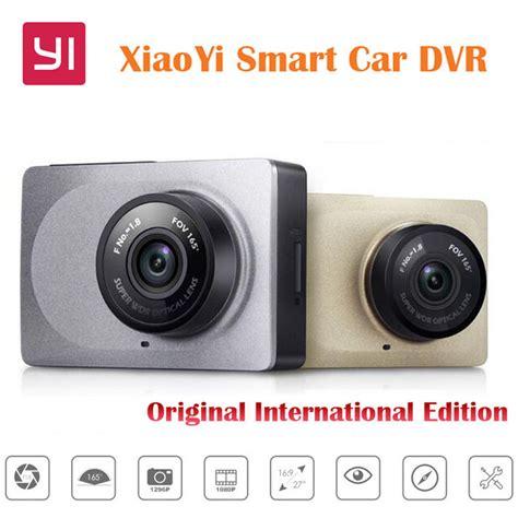 Sale Xiaomi Xiaoyi 1080p Wifi Car Dvr With Adas Sistem Hita original international edition xiaomi yi xiaoyi smart car dvr wifi dash 165 degree adas