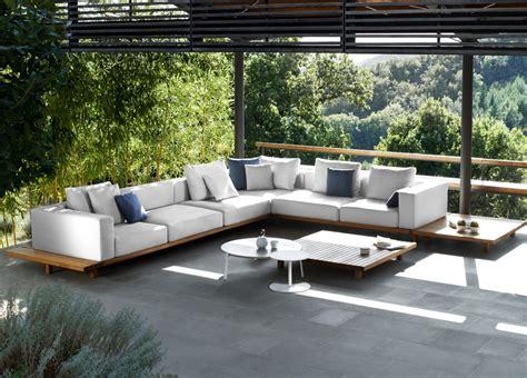 vis a vis sofa tribu vis a vis corner garden sofa tribu outdoor