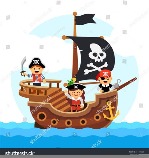 pirate ship clip pirate ship clipart black and white free images at clker