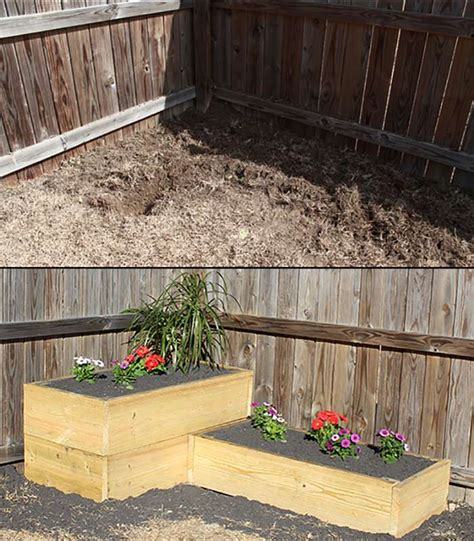 Building Planter Beds by Build A Terraced Raised Planter Bed Combo For 200