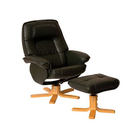 leather recliner chair and stool leather swivel reclining chairs uk