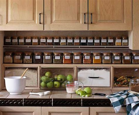 Creative Spice Rack Ideas by 11 Creative Ways To Store Your Spices Beneath