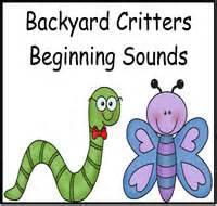 Backyard Sounds by Just File Folder File Folder At File Folder