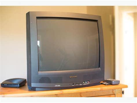 Tv Sharp Semi Flat 16 inch sharp tv oak bay