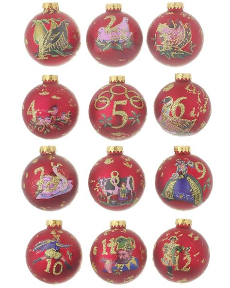 12 days of christmas personalized ornament