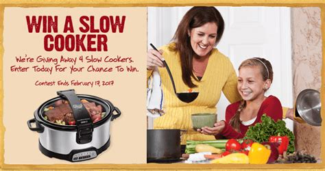 Stay Or Go Sweepstakes - furmanos com slow cooker sweepstakes