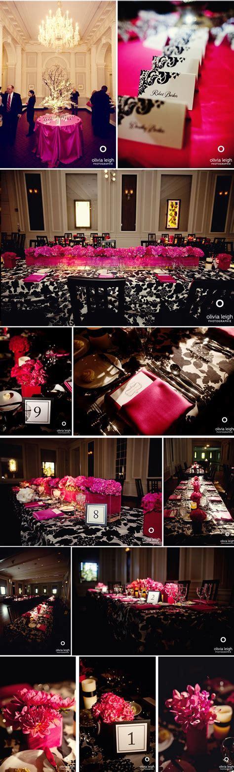 17 Best ideas about Pink Black Weddings on Pinterest