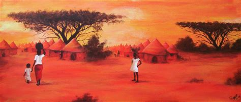 Home Decor In Kenya by African Painting By Arwenevenstar16 On Deviantart