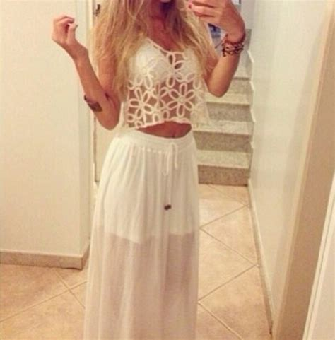 white lace dress on tumblr dress white lace dress cute tumblr clothes needtohave