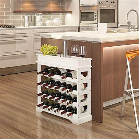 scaffali porta vino homfa cantinetta portabottiglie in mdf per 24 bottiglie