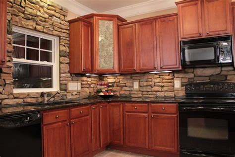 stone veneer kitchen backsplash stone veneer the natural choice for your home remodel