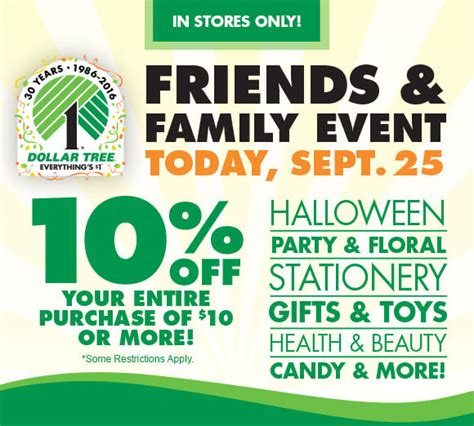 family dollar new coupons home decor savings ftm rare 10 off 10 dollar tree purchase coupon today only