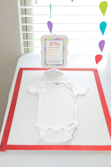 Onesie Baby Shower by Baby Shower Crafts Decorate Onesies For To Be