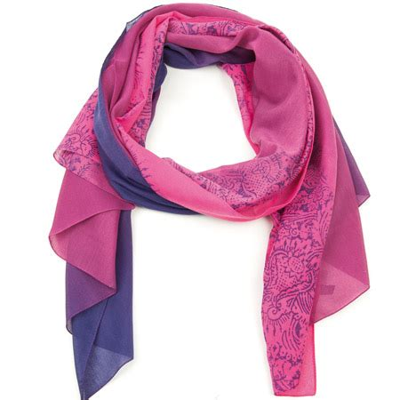 Gradient Scarf scarf with gradient by passigatti eur 35 95 gt