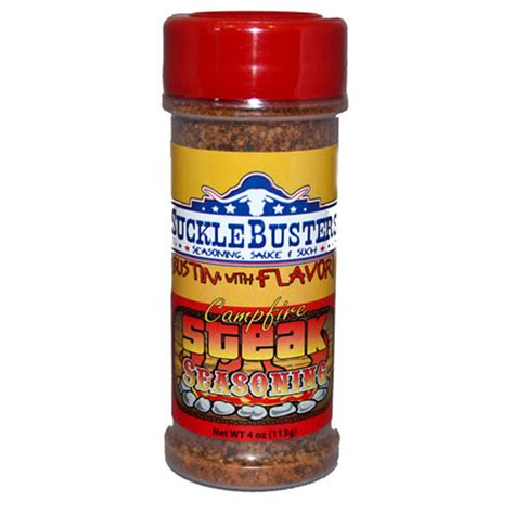 sucklebusters cfire steak seasoning 4 oz