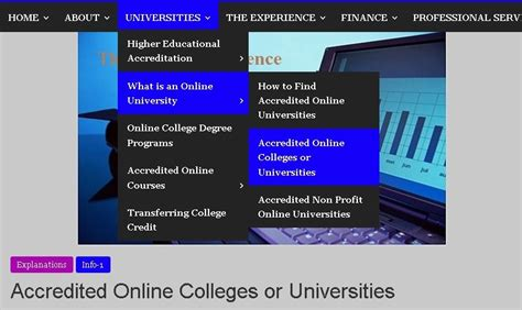 accredited online college online degree programs accredited 1 online college degrees for adults