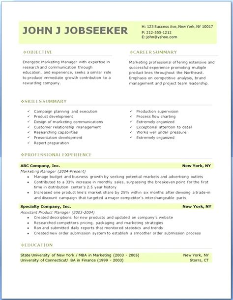 best resume template free best free professional resume templates