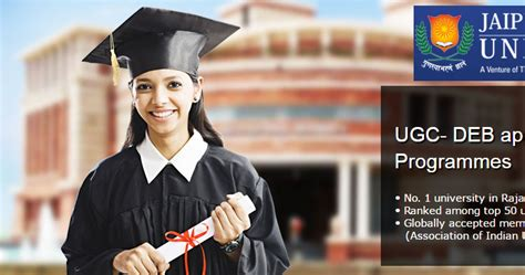 Jaipur National Mba Ranking by Jaipur National Distance Education Mba Courses