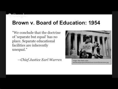 Brown Vs Topeka Essay by The Supreme Court Precedent Cases Brown V Board Of Education 1954