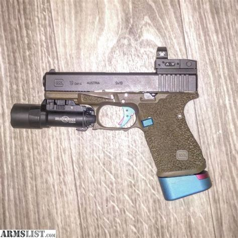 glock 19 4 tactical light armslist for sale tactical glock 19 4