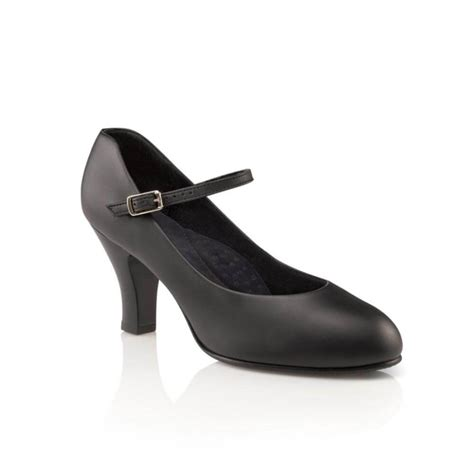 character shoes capezio 3 heel theatrical footlight character shoe