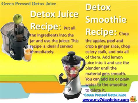 I Want To Detox My From by 003 My 7 Day Detox Want To Detoxify Your Drink Juice