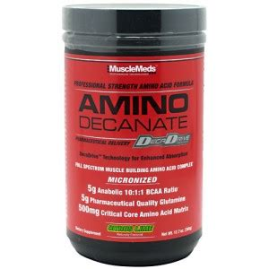 Suplemen Glutamine Decanate Musclemeds Amino Decanate 360gr Suplemenfitness Net