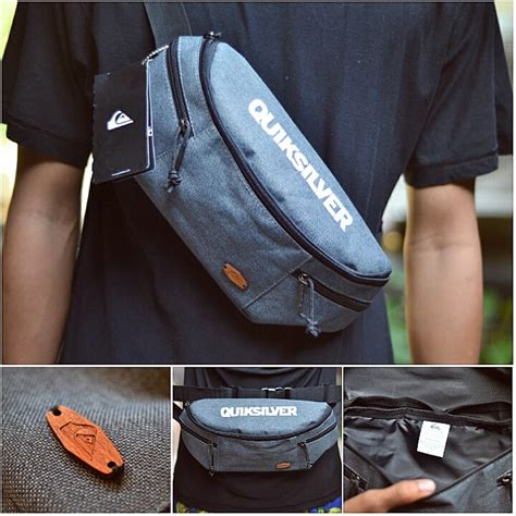 Tas Pinggang Simple Tactical Waist Bag Simple Jual Tas Pinggang Quiksilver Simply Wooden Logo Waist Bag