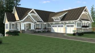 home plans for sloping lots craftsman style house plan 4 beds 4 baths 4320 sq ft