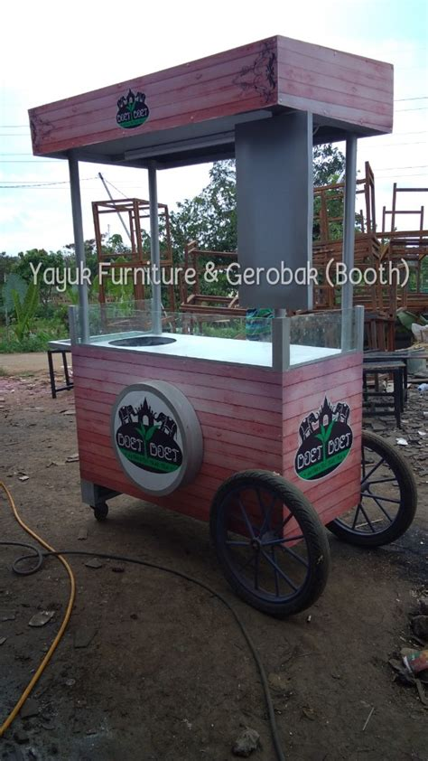 aneka gerobak thai tea outdoor sawangan yayuk furniture