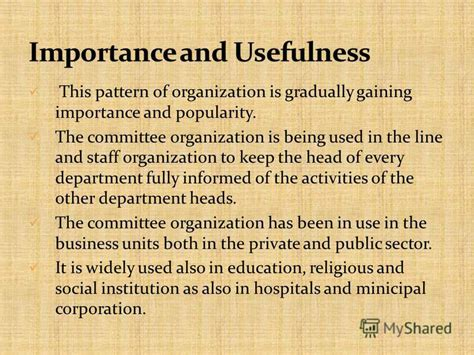 staffing pattern of the organization презентация на тему quot types of organization organization