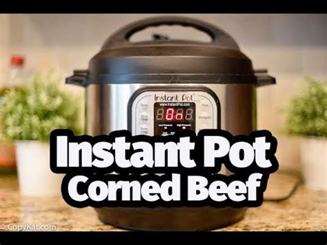 quot i my instant pot how to make corned beef in an instant pot