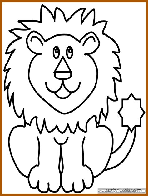 imagenes de leones fasiles dibujos de leones con color y diversi 243 n imagenes de leones