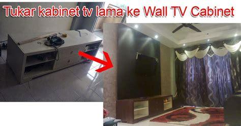 Buat Kabinet Tv jom diy rumah anda diy buat sendiri kabinet tv build