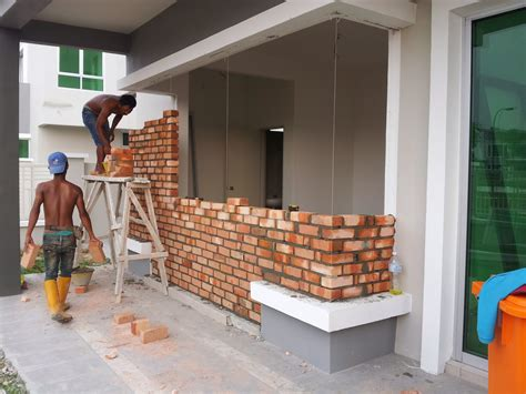 Cermin Pintu Belakang Viva journey of my renovation rumah 1
