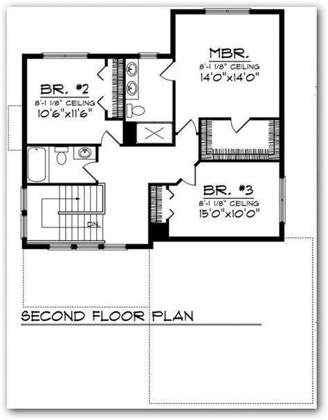 planos casas americanas plano de casa estilo americana de 3 dormitorios