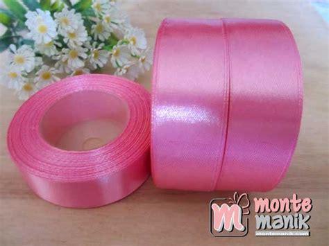 Pita Satin 2 5cm 1 Inch Per Roll mutiara sintetis 6 mm 1 kg sale 01 montemanik pusat