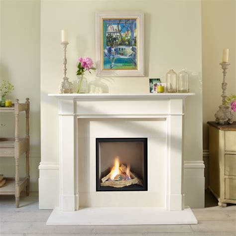 Glass Fronted Fireplaces by Flueless Gas Fires Glass Fronted Chiswell Fireplaces