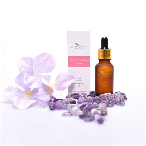 Serum Kulit Tak Glowing 5 Pcs kulit muka lyssa bertambah cerah dan glowing bila pakai naturewhite miracle whitening serum