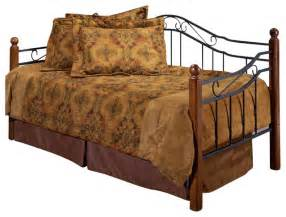 Metal Daybed With Trundle Hillsdale Four Post Metal Daybed With Trundle Contemporary Daybeds By Cymax