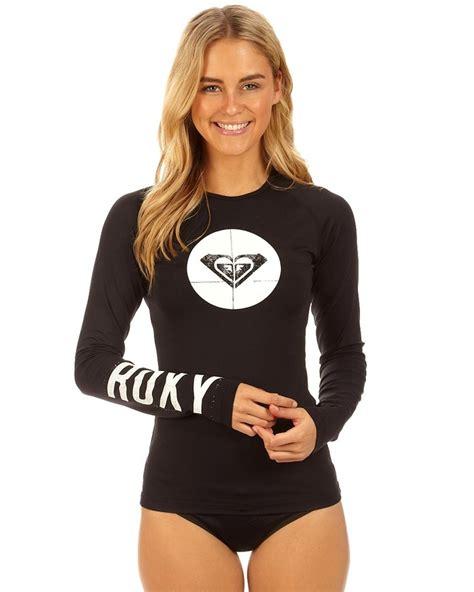 girls swim kids swimsuits roxy roxy ladies st it long sleeve rash vest surf and more