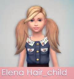 sims 4 child hair cc mtndewduhh as requested elena hair for kids sims 4