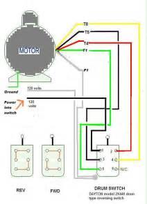 single phase reversing motor wiring single wiring diagram free