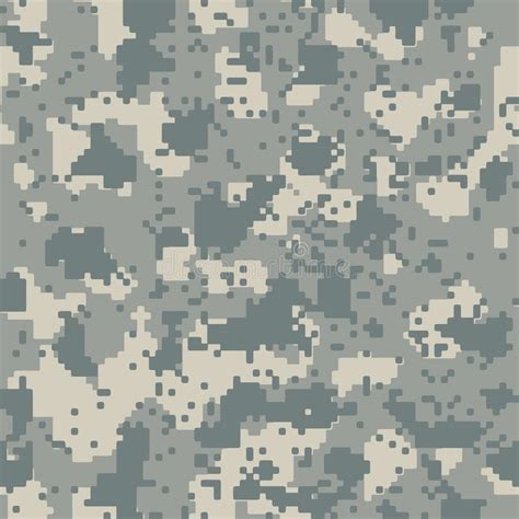 grey army pattern acupat seamless camo stock vector illustration of hidden