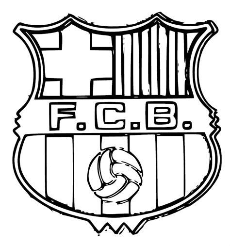 Coloriage Football Barcelone Fc Barcelone Coloriage L