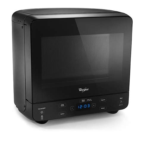 Small Countertop Microwaves by Whirlpool Wmc20005yb 0 5 Cu Ft Compact Countertop