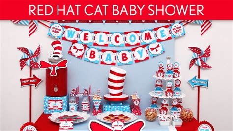 Cat In The Hat Baby Shower Ideas hat cat baby shower ideas hat cat s25