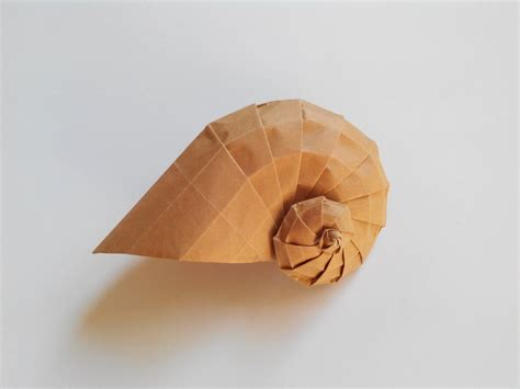 Origami Shell - tomoko fuse shell origami arts and