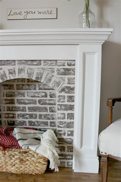 interior brick wall paint ideas best 25 painted painting brick fireplace wall nurani org