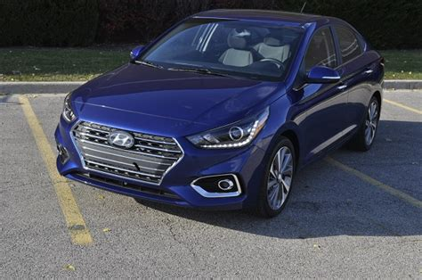 cheap comfortable cars 2018 hyundai accent first drive comfort can be cheap